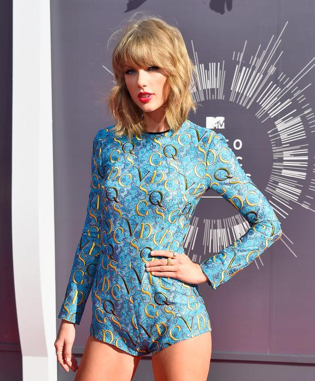 Recording artist Taylor Swift attends the 2014 MTV Video Music Awards