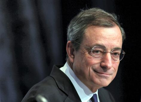 Mario Draghi, president of the European Central Bank (ECB)