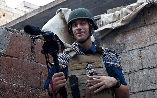 "James Foley was ""Jim"" to his family Photo: AFP/Getty Images"