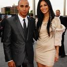 Lewis Hamilton and Nicole Scherzinger arriving for the 2011 National Movie Awards at Wembley Arena, London