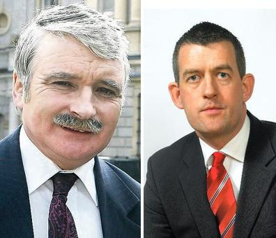 Former Minister for Defence Willie O'Dea, who had to resign from Cabinet in 2009 after making statements about Sinn Fein Limerick City Councillor Maurice Quinlivan, is to bed down alongside him in a homeless fundraising drive.