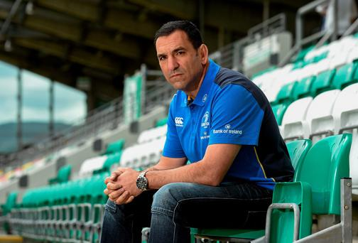 Leinster's new scrum coach Marco Caputo. Photo: Matt Browne / SPORTSFILE