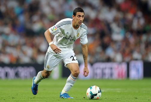 Manchester United have agreed a £59.7million fee with Real Madrid for Angel Di Maria. Photo: Adam Davy/PA Wire