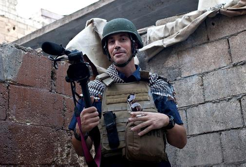 American journalist James Foley who was beheaded in a video released by the Islamic State