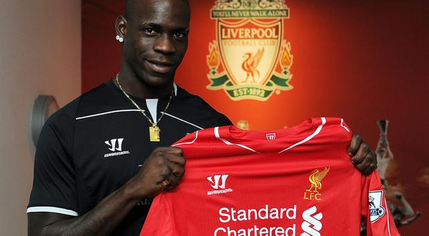 Mario Balotelli could leave Brendan Rodgers in a