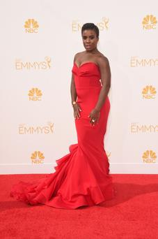 Uzo Aduba is absolutely ravishing in red