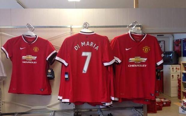 Manchester United jerseys are very popular in Dublin