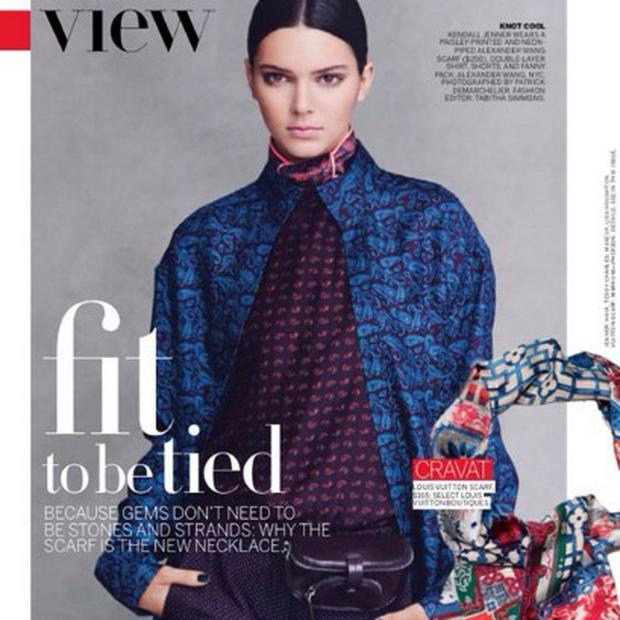 Kendall Jenner in US Vogue