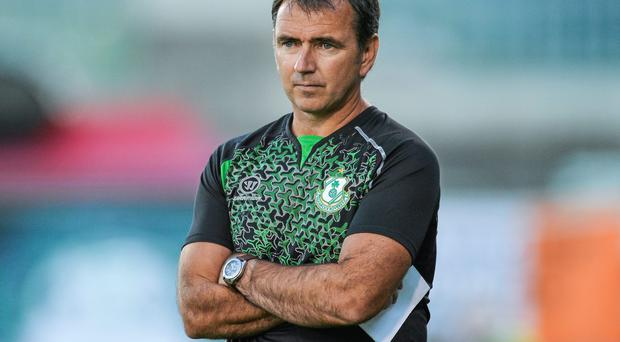 Shamrock Rovers manager Pat Fenlon is deeply frustrated by the image problem that game cancellations is creating for the League of Ireland. Photo: David Maher / SPORTSFILE