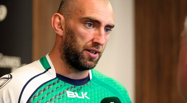 Connacht captain John Muldoon admits the province may need to justify Robbie Henshaw's long-term retention in terms of results. Photo: Matt Impey / SPORTSFILE