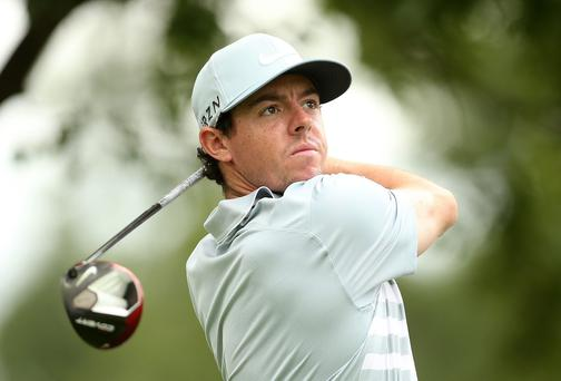 After dining with Bill Clinton this week, Rory McIlroy is the favourite to win at TPC Boston where he won two years ago. Photo: Darren Carroll/Getty Images