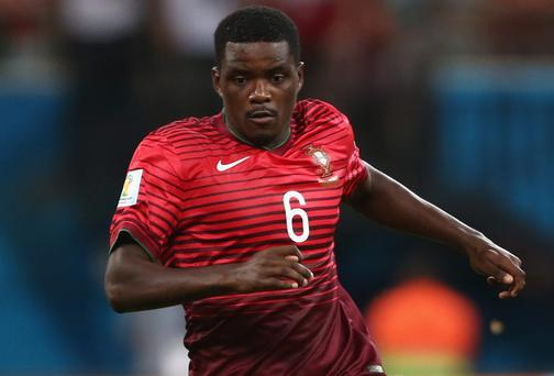 Sporting Lisbon's Portuguese midfielder William Carvalho