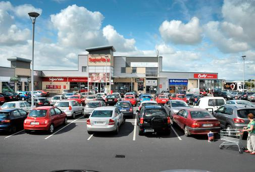 Colliers International are seeking €4m for the Sandhill Shopping Centre in Carlow