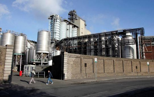 The Guinness Brewery St James Gate in Dublin