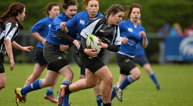 Wendy's job is to get more girls involved and playing Rugby throughout the province. Picture credit: Barry Cregg / SPORTSFILE