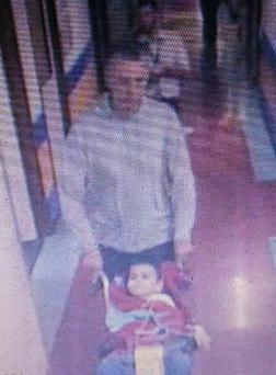 Officers said his parents - Brett, 51, and Naghemeh King, 45, - boarded a cross-Channel ferry from Portsmouth to Cherbourg at 4pm yesterday with Ashya's six siblings