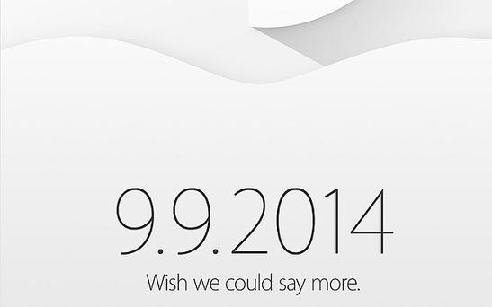 Apple invite: The special event on September 9 is widely believed to be the launch date of the much-anticipated iPhone 6.