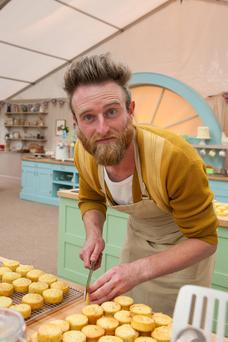"Iain Watters, the baker at the centre of The Great British Bake Off's 'bin-cident' row, who has admitted he allowed his frustration to boil over, but says since then, public support has been ""crazy"""
