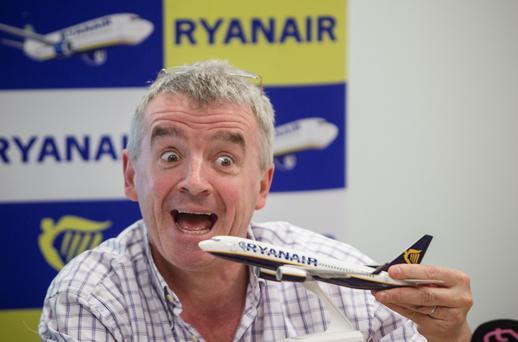 Ryanair CEO Michael O'Leary in 2013.