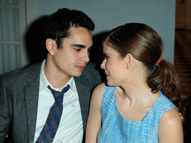 LOS ANGELES, CA - MARCH 08: Actors Max Minghella and Kate Mara attend Joe Fresh private dinner hosted by Joe Mimran and Kate Mara at The Chateau Marmont on March 8, 2013 in Los Angeles, California. (Photo by Donato Sardella/WireImage)