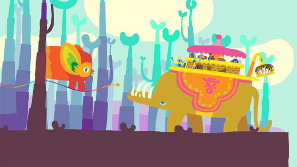 Hohokum for PS4, PS3 and PS Vita