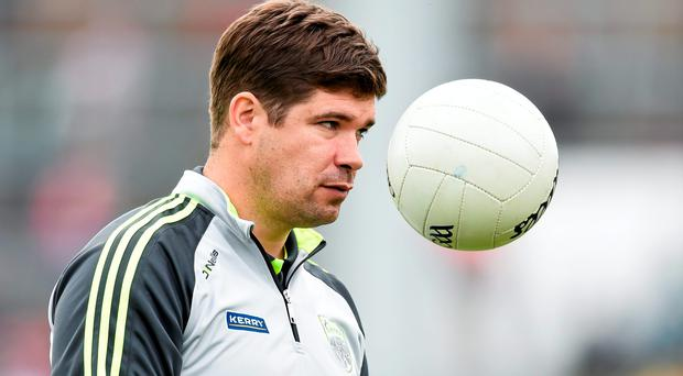Kerry manager Eamonn Fitzmaurice. Photo: Stephen McCarthy / SPORTSFILE