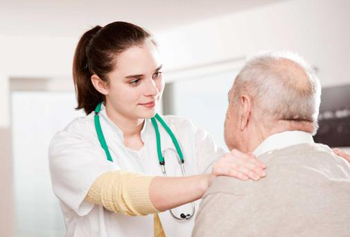 Nursing home: picture posed. Photo: Thinkstock