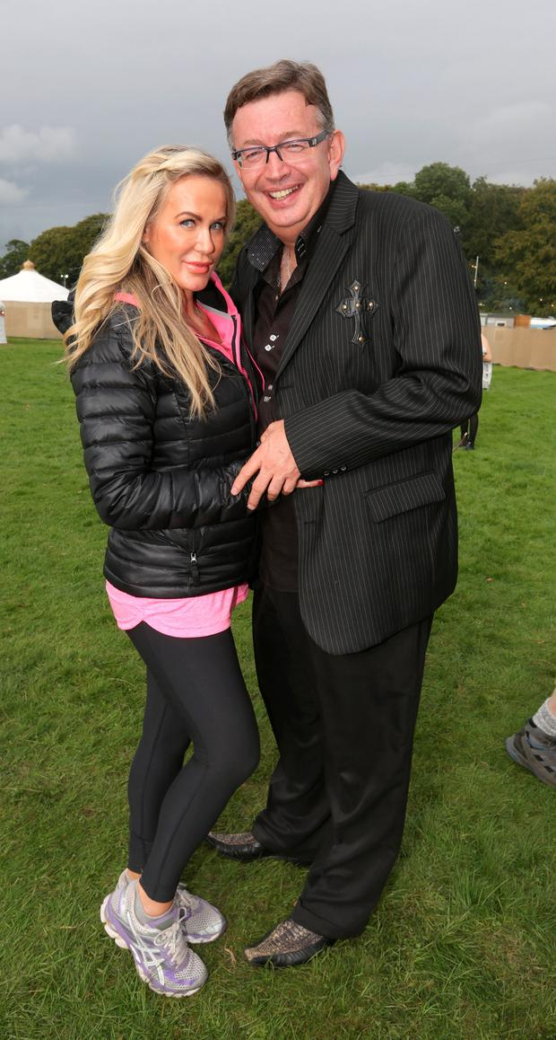 Gerald Keane and Lisa murphy, pictured on the final day of the Electric Picnic Music Festival, Stradbally, Co. Laois. Photo: Damien Eagers