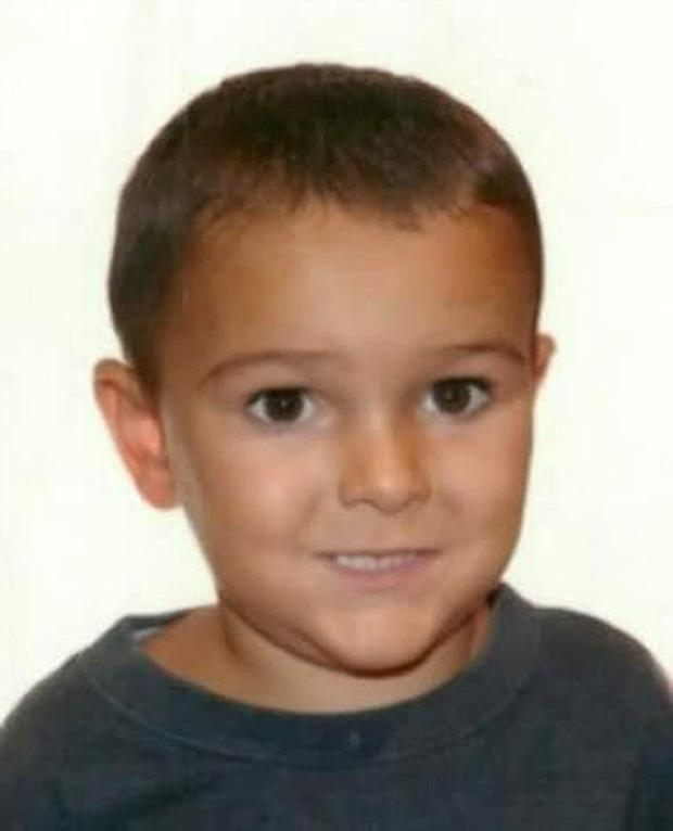 Handout file photo issued by Hampshire Police of Ashya King, who has a brain tumour and was taken by his parents from hospital without the blessing of doctors, Brett King, 51, and Naghemeh King, 45, were arrested yesterday at 10pm local time by Spanish police acting on a European arrest warrant in Velez-Malaga on the Costa del Sol