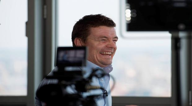 Brian O'Driscoll made his debut as a pundit on BT's 'Rugby Tonight' show