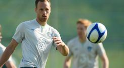 Meyler: 'When you play top teams it's still 11 v 11. There is no difference between him and me. Maybe it's because I come from a GAA background, where it's very much a case about you versus your man' Picture credit: David Maher / SPORTSFILE