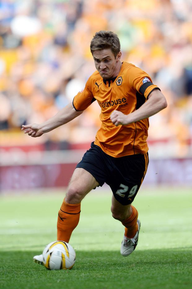 Crystal Palace have completed their third deadline day swoop by completing the loan signing of Wolves striker Kevin Doyle