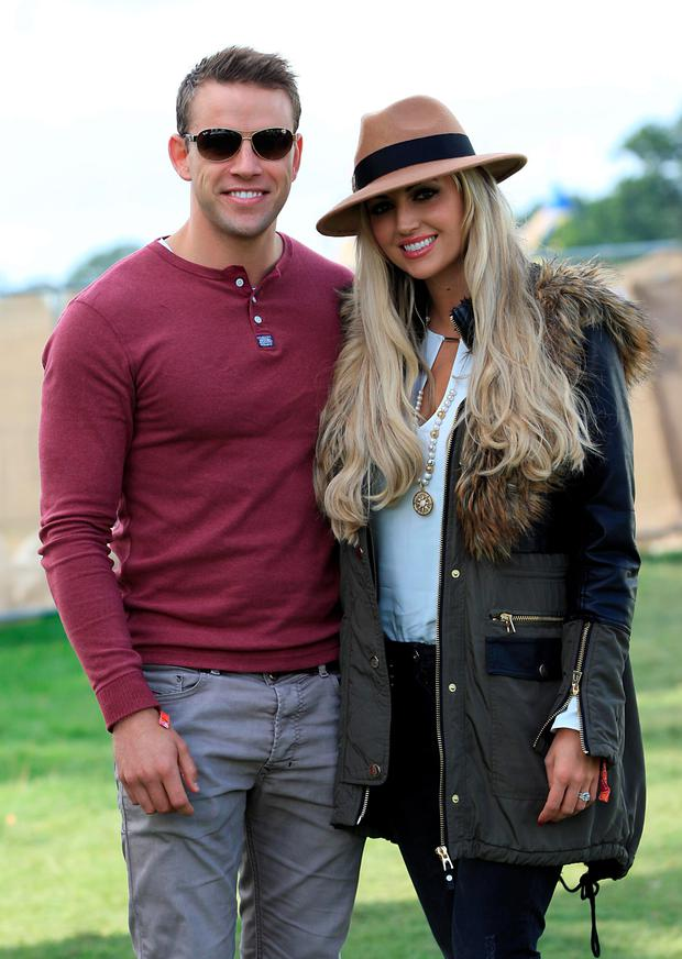 Wes Quirke and Rosanna Davison