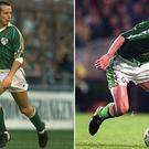Liam Brady and Roy Keane feature in midfield for Ireland's greatest team of the last 40 years