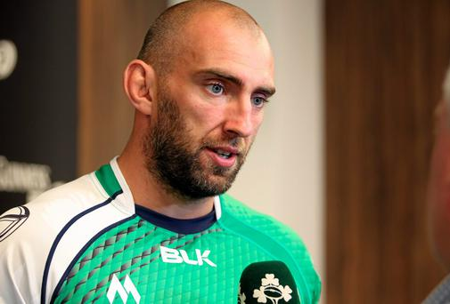 Connacht captain John Muldoon is targeting a top-six finish in the Guinness Pro12 and a Rugby Champions Cup place. Photo: Matt Impey / SPORTSFILE
