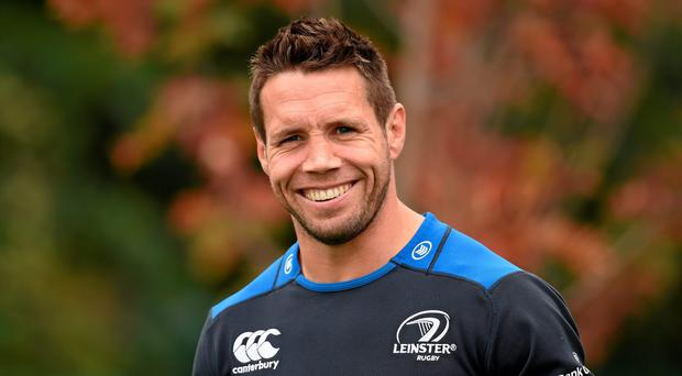 Isaac Boss is expecting a three-way battle for the Leinster number nine jersey with the emergence of Luke McGrath as a realistic option as well as Eoin Reddan. Photo: Stephen McCarthy / SPORTSFILE