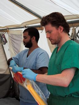 Dubliner Dr Gabriel Fitzpatrick, chairman of Medecins Sans Frontirres (MSF) Ireland, called on the west to help fight the spread of the virus at the source.