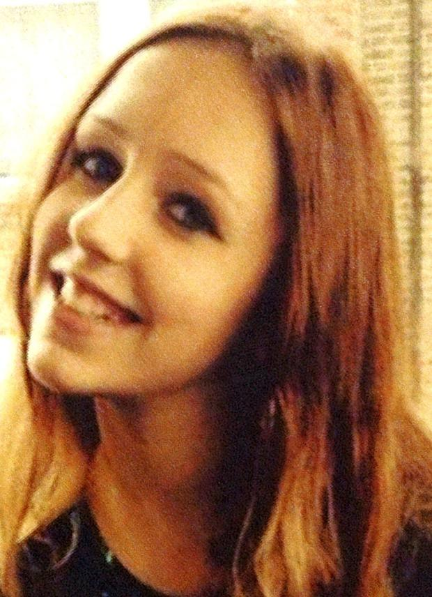 Missing 14-year-old Alice Gross who was heading back towards home along a canal tow path when she was last seen, detectives have revealed Credit: Metropolitan Police/PA Wire