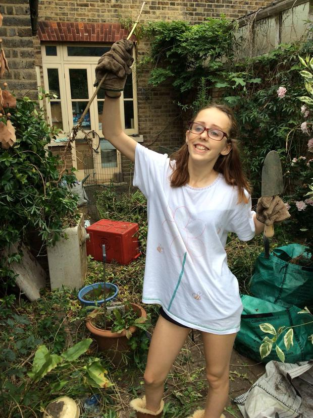 Gross, 14, was last seen by her mother at 1pm on Thursday when she left her home in Hanwell, Ealing, west London. Alice, a pupil at Brentside High School, told her mum, Rosalind Hodgkiss, she would be home by 6pm but has not been seen since Credit: Metropolitan Police/PA Wire