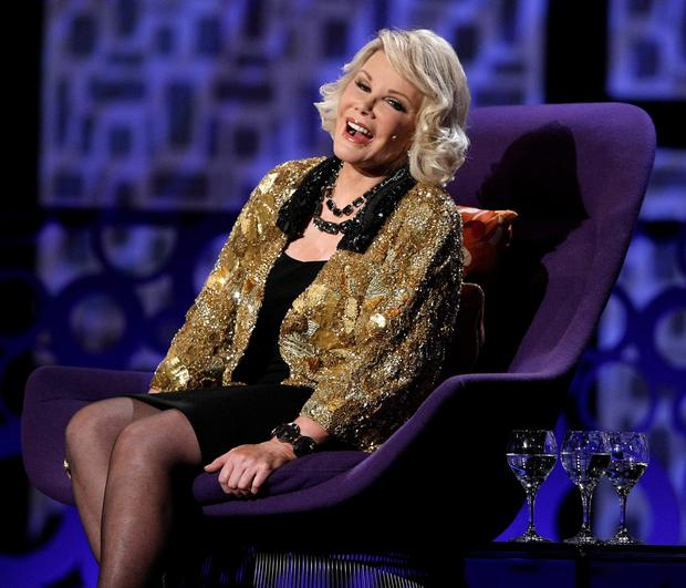Joan Rivers in 2009; it was announced yesterday that the 81-year-old comedienne had passed away