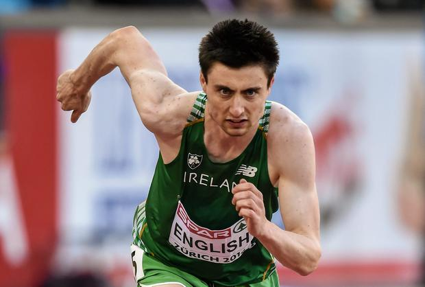 Mark English's bid to break the Irish 800m record looks set to have to wait until next year. Picture credit: Stephen McCarthy / SPORTSFILE