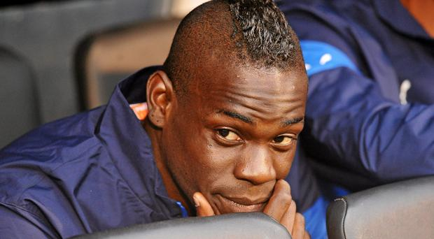 Conte caused a stir when he left out star striker Mario Balotelli from his squad (David Maher / SPORTSFILE)