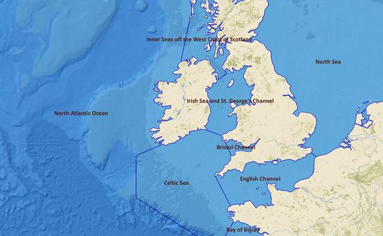 A giant 'blob' of cold water has appeared in the North Atlantic over the summer months