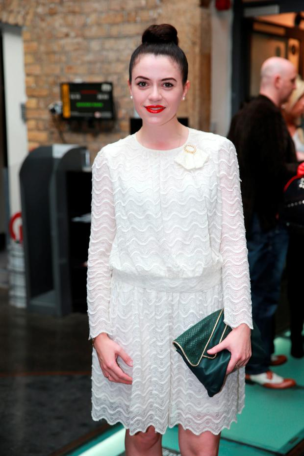 Gemma-Leah Devereux at the opening night of Poison Pen at the Irish Film Institute in Temple Bar, Dublin
