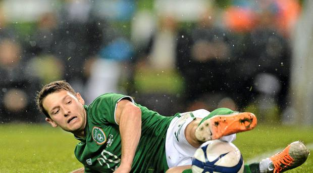 Wes Hoolahan should start on the bench against Scotland
