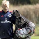 Gordon Strachan insists there's 'no fear' in his Scotland camp. Photo credit: Jeff Holmes/PA Wire.
