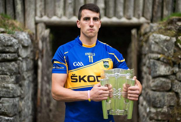 Today's captains: Patrick Maher, Tipperary. Picture credit: Brendan Moran / SPORTSFILE