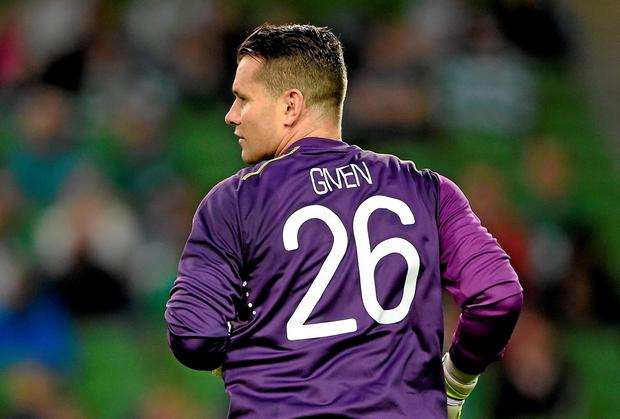 Does Shay Given risk tainting his legacy by not realising when it's time to go? Picture credit: Brendan Moran / SPORTSFILE