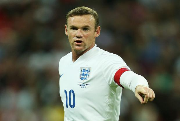 Wayne Rooney gives instructions during the International Friendly match between England and Norway. Photo credit: Stephen Pond - The FA/The FA via Getty Images