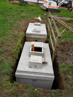 Only if a septic tank fails an inspection are local authorities allowed to provide up to €4,000 in financial aid
